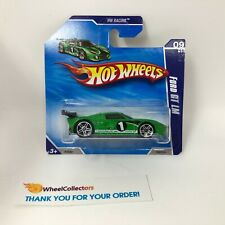 SHORT CARD * Ford GT LM  #155 * GREEN * 2010 Hot Wheels * ZB2
