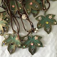Maple Leaf Pendant Chain Crystal Choker Chunky Statement Bib Necklace Jewelry *1