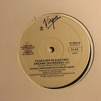 GIORGIO MORODER • Together In Electric Dreams • Vinile 12 Mix • 1984 VIRGIN