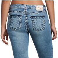 True Religion Women's Halle Big T Super Skinny Stretch Jeans in True Identity