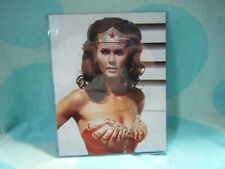 Vintage Wonder Woman Lynda Carter Vintage Original Color Photo 8 x 10