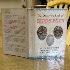 Observers Book Of Birds Eggs 1960