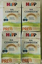 4x HiPP Pre HA Combiotik, Hypoallergene Anfangsnahrung 4x 600 g MDH 22.10.2021!