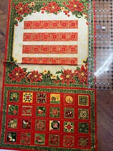 Advent Calendar panel (1181 ) 23.5 wide x 24.5in length approx (when finished )