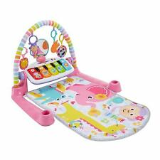 New Fisher Price Deluxe Kick & Play Piano Gym - Pink