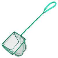 Aquarium Net Fine Mesh Small Fish Catch Nets with Plastic Handle Durable Net G6A