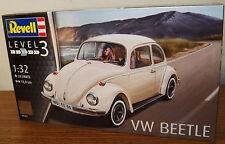 Revell Germany 7681 Volkswagen VW Beetle Kafer plastic model kit 1/32