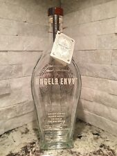 Empty Angels Envy Bourbon Whisky Bottle with Stopper 750 ml Angel Wings