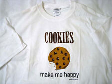 Cookies Make Me Happy © High Cotton Inc - M Medium T Shirt New NWOT
