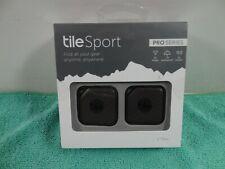 NEW Tile Sport Pro Series Smart Item Tracker 2 Pack 200ft Range -T4002