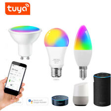 Wifi E27 E14 GU10 LED Light Bulb for Amazon Alexa/Google Home App Control