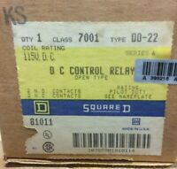 Square D Class 8501G0-40 Magnetic Relay 4 Poles 24V Coil NEW!! in Box