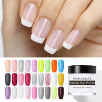 NICOLE DIARY Dipping Glitter Powder Natural Dry Nail  Without Lamp Cure