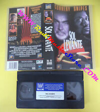VHS film SOL LEVANTE 1994 Sean Connery Wesley Snipes FOX VIDEO (F154) no dvd