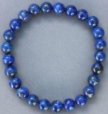 "Bracelet Lapis lazuli 8 mm ""Large"""