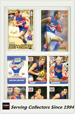 2007 Herald Sun AFL Trading Card MASTER TEAM CARD COLLECTION-W.BULLDOGS