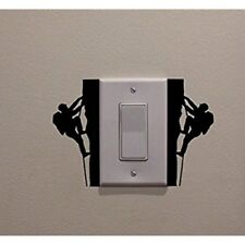 Rock Climbers Creative Light Switch Sticker Decor Wall Decal Art Living Room