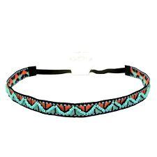 schönes Stirnband Haarband mit Perlen im Indianer-Stil mehrfarbig Unisex SOLIDA