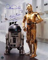 1977 R2-D2 & C3-PO Anthony Daniels/Kenny Baker Signed LE 16x20 Photo (JSA)