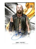 WWE Eric Young 2019 Topps Undisputed On Card Autograph SN 117 of 199