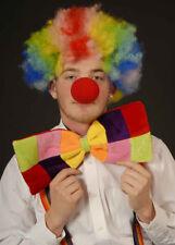 Jumbo Circus Clown Bright Bowtie