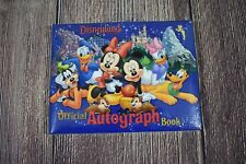 Disney Parks Disneyland Official Autograph Book Goofy Pluto Mickey Donald Minnie