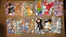 Mc Donallds 1998 complete Beinie Babies Collection. Mint in origial packages.