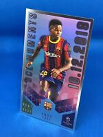 TOPPS BEST OF THE BEST 2020-21 SUPERSIZE UCL MOMENTS ANSU FATI