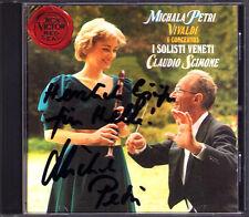 Michala PETRI Signiert VIVALDI Recorder Concerto RV 441-5 108 Claudio SCIMONE CD