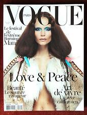 Vogue Paris ~ #912 November 2010 ~ Natasha PolyBurning Man