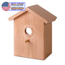 Window Suction Cup Bird House Suction w/ See Through Two way Mirror Bird Nesting