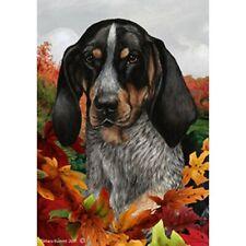 Fall Garden Flag - Bluetick Coonhound 131931