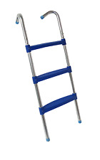 """Upper Bounce?39"""" Trampoline Ladder With 3"""" Wide Flat Step"""