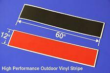 "12"" X 60"" Vinyl Windshield Banner Decal Strip Sticker Window Rally Striping"