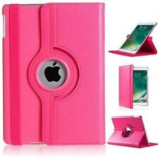 Pink-Leather 360 Rotating Smart Case Cover ForApple iPad Air/iPad4/3/2/iPad Min