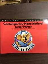Contemporary Piano Method Junior Primer Electric Keyboard Margaret Brandman