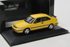 Saab 9-3 Coupe ( 2001 ) gelb / Minichamps 1:43