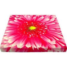 Stuhlkissen Blume rosa / rosé 40 x 40 cm Kissen Gerbera Sitzkissen Stuhlauflage