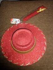 NEW Disney Store Toy Story 3 Jessie Hat & Braid Cowgirl