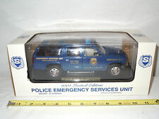 New Jersey State P.B.A. Police Emergency Unit  Chevrolet Suburban 1/24th Scale