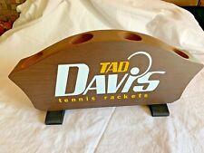 Vintage Tad Davis Tennis Rackets Store Display Racket Holder