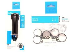 """Shimano Pro VIBE Di2 Alloy Stem -17° 1-1/8"""" 110mm w/ Spacers T:5, B: 3/5/10/15"""