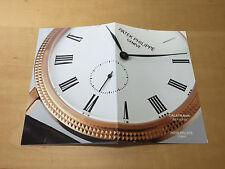 Booklet PATEK PHILIPPE New Model 2006 - Calatrava Ref. 5119 - All Languages