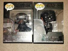 Funko Pop! Movies: Star Wars Light and Sound Kylo Ren and Darth Vader Bundle