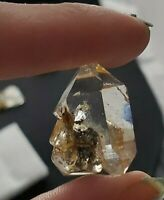 Paradise Falls NY A+ Gemmy Herkimer Diamond Cluster  Double Terminated Quartz