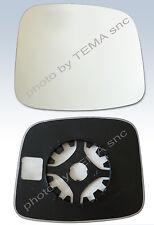 Specchio retrovisore FIAT Fiorino 2008 - QUBO / piasta supporto+vetro -- SX