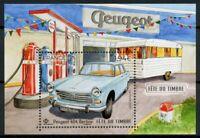 France Cars Stamps 2020 MNH Stamp Day Peugeot 404 Berline 1v M/S