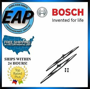 For Mercedes-Benz ML320 ML350 ML430 ML500 SLK230 Windshield Wiper Blade Set NEW