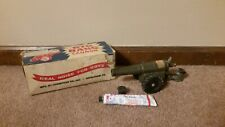 BIG BANG 60mm Cannon Conestoga Cast Iron Bangsite Army Toy 1962