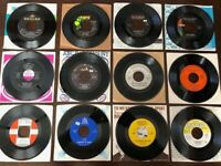 """Set #2 -  12 1960's 45 RPM 7"""" Records- Unique Collection from the Vault!"""